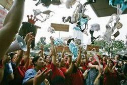 Protest vor Triumph in Philippinen
