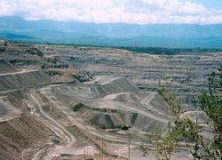 El Cerrejon Mine in Kolumbien