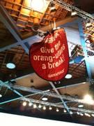 Aktion von Greenpeace an Nestlé-GV