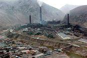Mine La Oroya in Peru